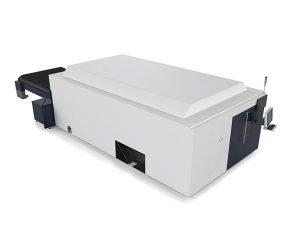 แผ่นโลหะ / หลอดอุตสาหกรรมเครื่องตัดเลเซอร์มอเตอร์คู่ระบบ cnc ระดับไฮเอนด์