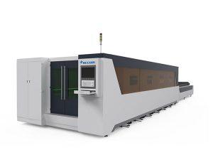 เครื่องตัดเลเซอร์อุตสาหกรรมการตัดด้วยเลเซอร์ชนิดมีฝาปิดขนาด 1000w