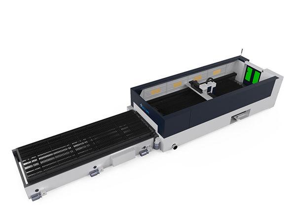 โลหะความแม่นยำสูงเครื่องตัดไฟเบอร์เลเซอร์ 500 วัตต์ raycools หัวตัด