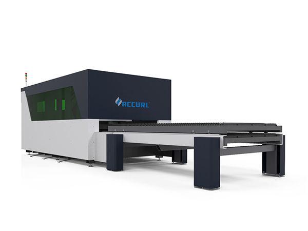 เครื่องตัดเลเซอร์ไฟเบอร์โลหะอัจฉริยะส่งราบรื่นความแข็งแกร่งที่ดี