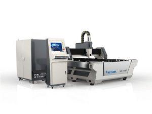 การออกแบบที่กะทัดรัดอุตสาหกรรมเครื่องตัดเลเซอร์ความเร็วในการตัดสูง 380v