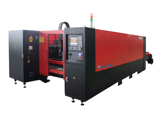 เครื่องตัดเลเซอร์อุตสาหกรรม 1000w สัญญาณรบกวนต่ำความแม่นยำสูงสำหรับการตัดเหล็กคาร์บอน