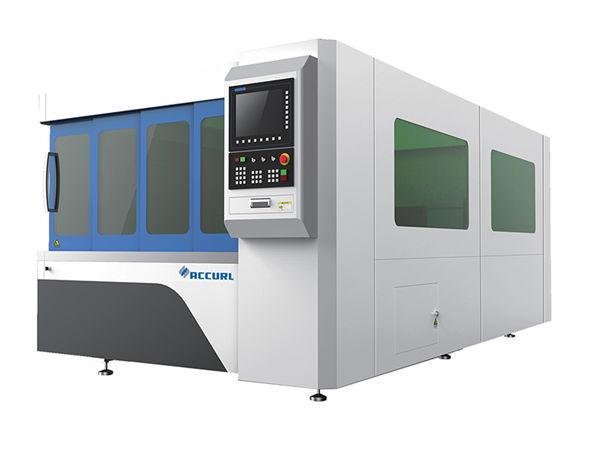 1070nm ความยาวคลื่นอุตสาหกรรมเครื่องตัดเลเซอร์ / เครื่องตัดไฟเบอร์เลเซอร์