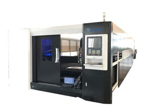 เครื่องตัดเลเซอร์ไฟเบอร์เหล็กแผ่นโลหะสำหรับเหล็กสแตนเลส